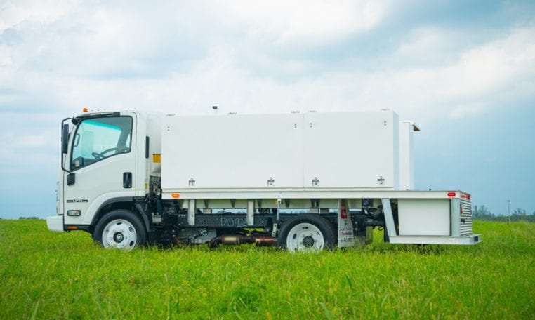 Isuzu NPR-HD Spray Truck