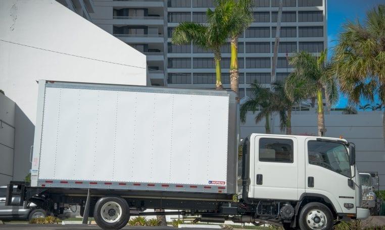 Isuzu NPR Crew Cab Box Truck