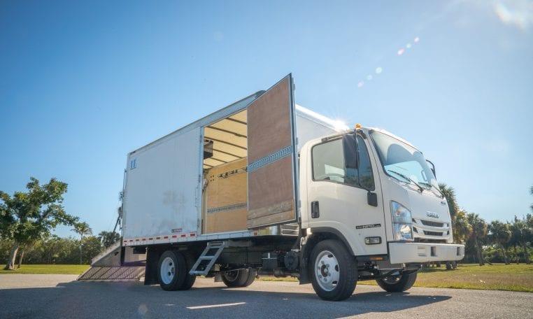 Isuzu NPR-HD Proscape Box Truck