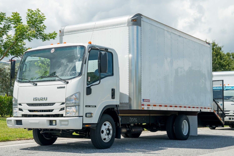 2016 ISUZU NPR Box Truck (Call For Price)