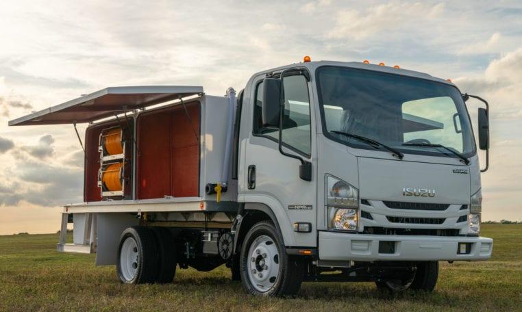 New ISUZU NPR-HD Spray Truck